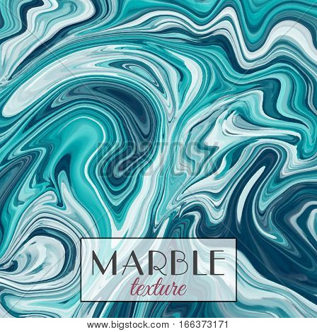 Marbling. Green Marble texture. Vector abstract colorful background. Paint splash. Colorful fluid. Vector illustration eps10