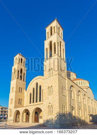 Agioi Anargyroi Orthodox Cathedral in Paphos, Cyprus