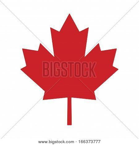 Maple Leaf Canada Vector Symbol Icon Design