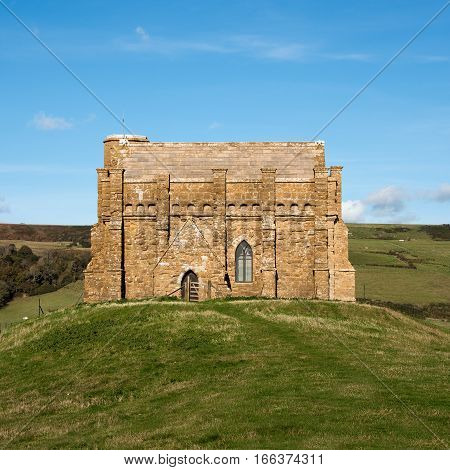 St.Catherine's Chapel just outside the village of Abbotsbury in DorsetUK