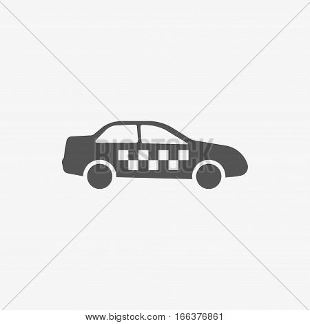 taxi icon stock vector illustration flat design