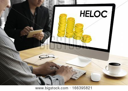 HELOC (Home Equity Line of Credit) anxiety, bank, bankrupt, bankruptcy,