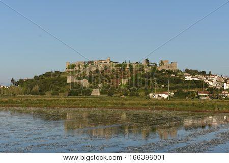 Village of Motemor o Velho in Portugal