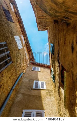 Old Buildings In Seillans, Hautes Provence, France