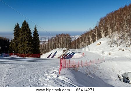 Net On The Slopes