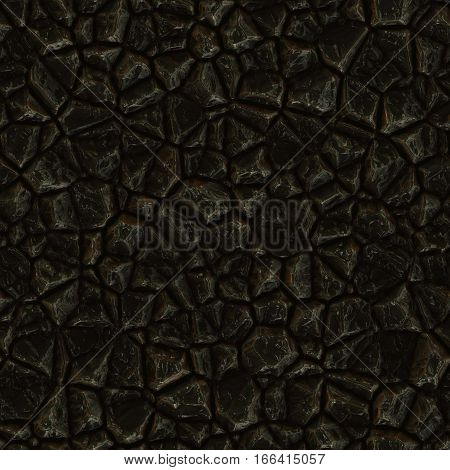 Seamless texture of crystal or metal colorful reflective raw ore gemstone. Nature tile jewelry glamour background