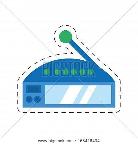 router internet connection modem access vector illustration eps 10