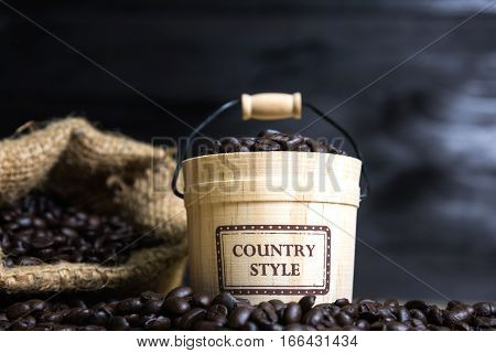 Coffee Beans With Casks