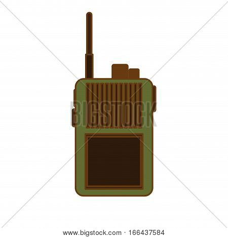 walkie talkie  icon image vector illustration design