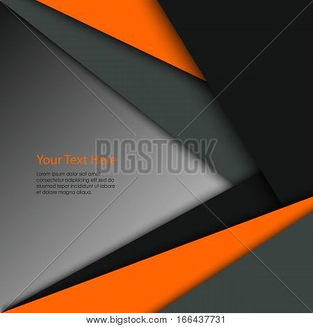 Abstract colored technical triangular stripes background vector eps 10