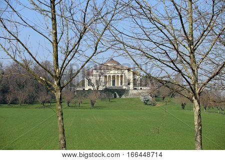 Ancient Venetian Villa Designed By Architect Andrea Palladio Cal