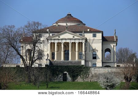 Wonderful Villa Designed By Architect Andrea Palladio Called Vil