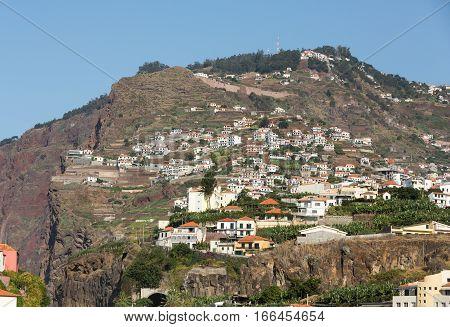 Camara de Lobos - traditional fishing village situated five kilometres from Funchal on Madeira. Portugal