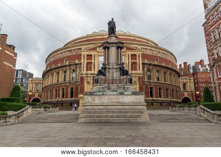 London, England - June 18 2016: Royal Albert Hall, London, Great Britain