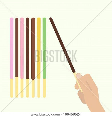Pocky Pepero Stick