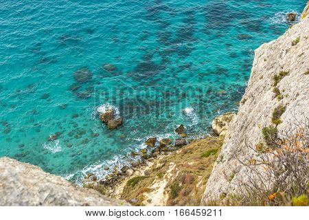 Rocky Seacoast On Sardinia Island, Italy