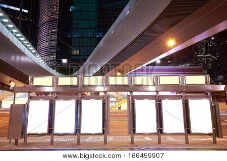 City Bridge Streetscape Backgrounds Advertisement Lightboxes Of Night