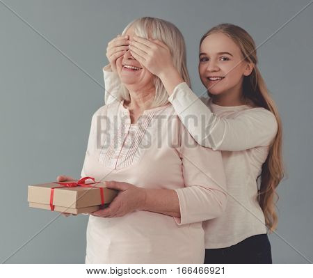 Granny And Granddaughter