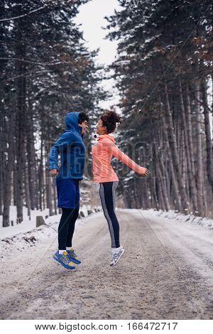 Outdoor Winter Fitness
