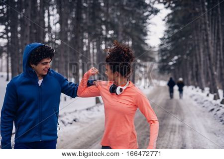 Running Session Together