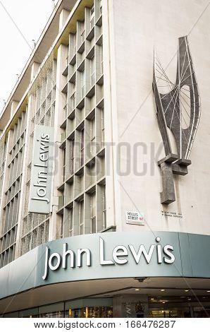 John Lewis Department Store, London