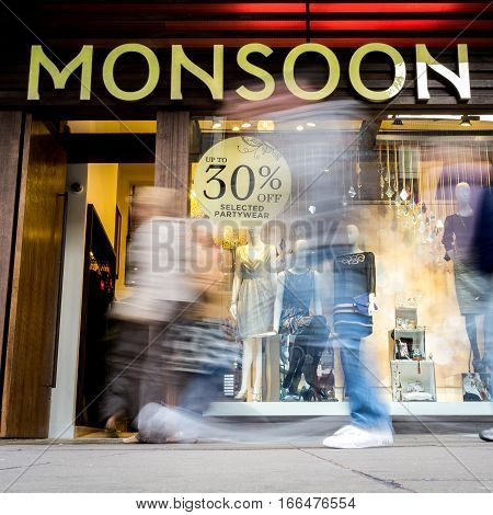 Monsoon Store, Oxford Street, London