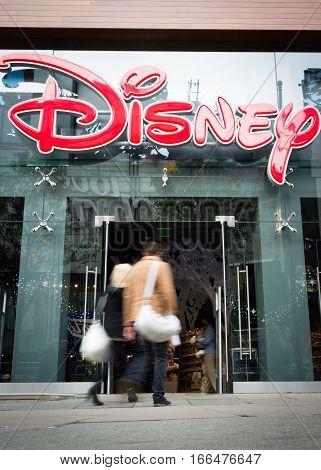 Disney Store, Oxford Street, London