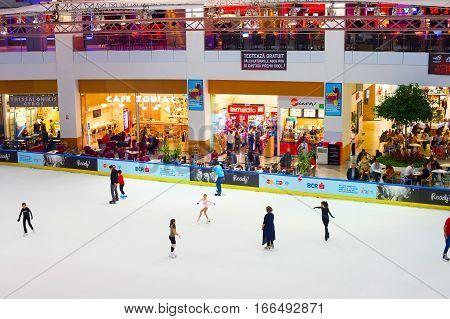 Ice Rink Indoor