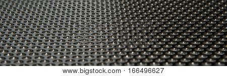 stainless chrome gray grille iron macro mesh