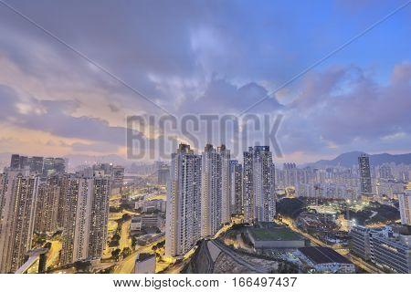 ,ping Shan View Of Kowloon Bay