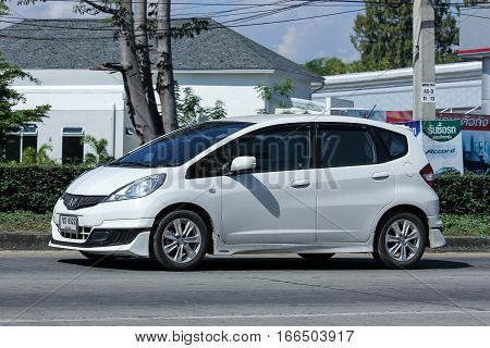 Private Car, Honda Jazz.