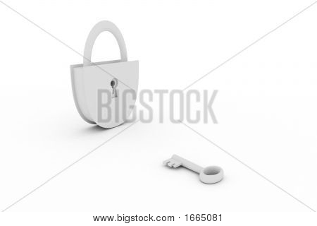 Key And A Lock
