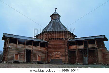 Mokhovaya Tower Of Suma Stockade In Former Royal Estate Kolomenskoye