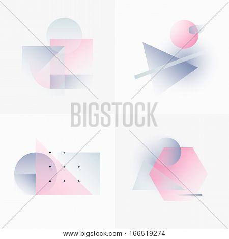 Gradient Geometry Forms 10