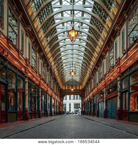 Leadenhall Market, London