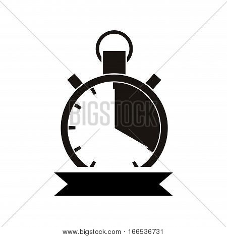 Sport chronometer timer icon vector illustration graphic