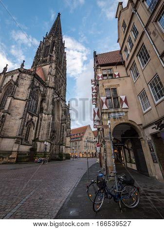 Old Munster, Westphalia, Germany