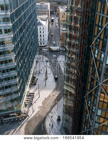 Streets Of London, Old And New - High Angle View