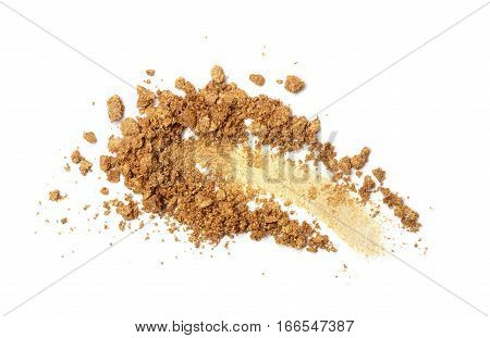 Smear Of Crushed Gold Eyeshadow