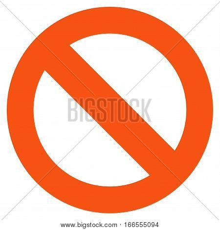Not Available vector icon. Style is flat graphic symbol.