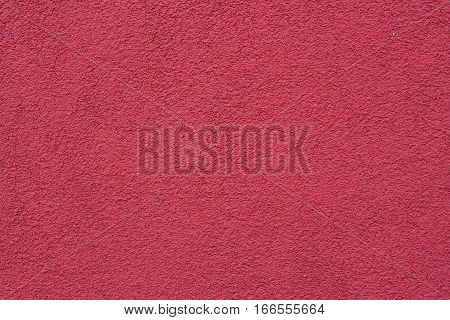 The texture of the stone rihannas the walls are painted in shades of red colors