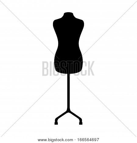 manequin silhouette isolated icon vector illustration design