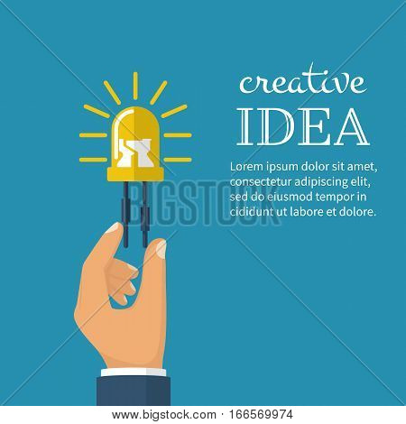 Creative Ideas Concept