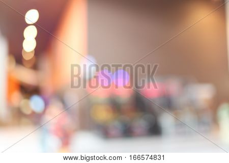 abstract blur background of interior restaurantconcept of backdrop scene and presentation.