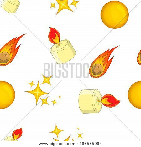 Glare pattern. Cartoon illustration of glare vector pattern for web