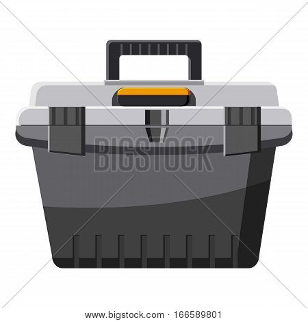 toolbox icon. Cartoon illustration of toolbox vector icon for web design