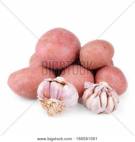 Red Potatoes And Garlic
