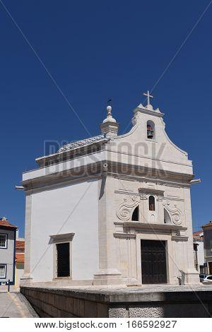 View of the Church of Aveiro Beiras region; Portugal;