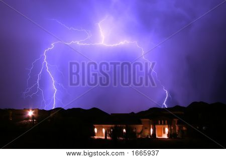 Wishbone Lightning Strike