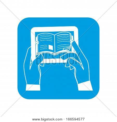 ebook or book download button thumbnail image vector illustration design